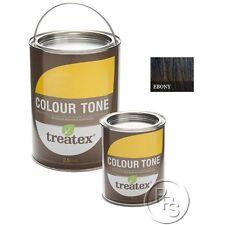 Treatex Hard Wax Oil Colour Tone Ebony Tint 11090 For Woodwork & Flooring