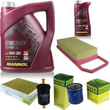 Ölwechsel Set 6L MANNOL Energy Combi LL 5W-30 + MANN Ölfilter Service 10053984