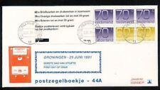 FDC Philato met Postzegelboekje 44a met aanhangsel