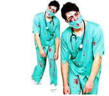 Uomini ADULTI deceduto DOC dottore Zombie Morti Viventi Halloween Costume