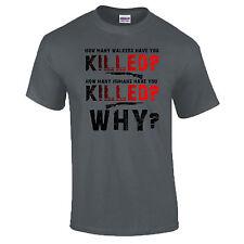 Quanti erranti hai ucciso morti che camminano Zombie Regalo Premium DTG T-shirt