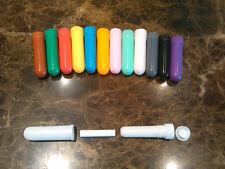 15sets blank nasal inhaler 4part 14colors