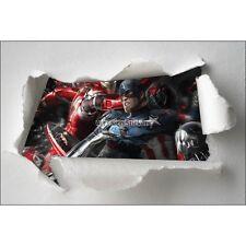 Adesivi bambino carta effetto strappato Avengers ref 7662