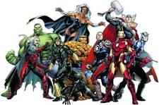MARVEL COMICS GROUP Decal Removable WALL STICKER Home Decor Art X-Men Avengers