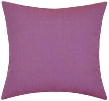 Sunbrella Canvas Iris Indoor/Outdoor Solid Pillow