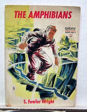 1950s The Amphibians-S. Fowler Wright Galaxy Sci-Fi Pulp Novel #4 - (L4869)