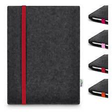Tablet Tasche - Amazon Fire HD 8 - Filz Hülle Etui LEON anthrazit RED