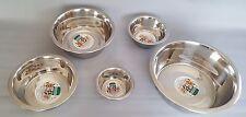 Cane Gatto sua utilità ciotola di cibo in acciaio inox acqua PORTA MANGIME PIATTI forniture Pet