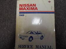 1989 Nissan Maxima Service Repair Shop Manual FACTORY DEALER SHIP OEM BOOK 89 x