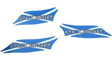 Genuine VAUXHALL ECOSSE SCOTTISH FLAG DECAL SET Corsa Astra Vectra NS OS & Rear