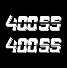 Chevrolet 400 SS Chevy 400SS Truck Bed Vinyl Cut Decal Sticker 1500 2500 ,1 pair