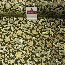 Oriental Chinois Dragon Shanghai Brocart Robe Tissu 120 cm de Large MK1045 Mtex