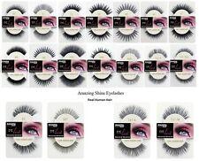 Amazing Shine Eyelashes 100% Human Hair False Lashes