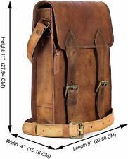 Messenger Shoulder very unique Bag Real Leather Satchel Laptop Briefcase Men New