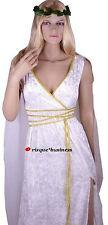Medieval Greek Roman Goddess Cleopatra Fancy Dress Costume - 8 10 12 14 16 18 20