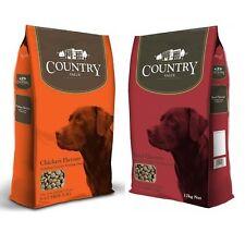 Country Value Adult Chicken 12kg / Beef 12kg / Greyhound 15kg Complete Dog Food