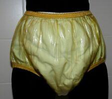 Gummi-PVC Euroflex Inkontinenz Windelhose Gummihose gelb transparent
