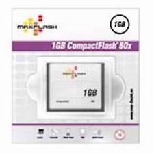 Speicherkarte Maxflash 1 GB CF Compact Flash 80x Geschwindigkeit Highspeed