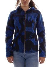 Brunotti Fleecejacke Funktionsjacke Hoodie-Jacket blau Corvus warm