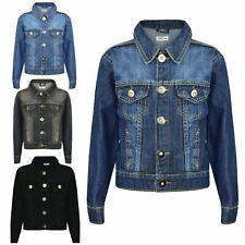 912076522f85 Kids Boys Jacket Designer Denim Style Fashion Trendy Jeans Coat New Age  3-13 Yr