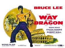 Way Of The Dragon - Meng long guo jiang (1972) ) Bruce Lee movie poster print 9