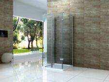 Duschkabine ISOLA U Form Dusche Glas Duschabtrennung Runddusche