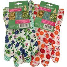 Gartenhandschuhe Damen bunt bedruckt Blumenmotive Gartenarbeit ABS rutschsicher