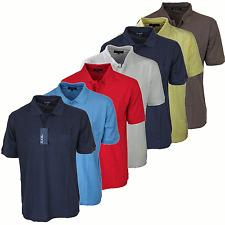 Camiseta Polo para hombre Kam-Wear Casual Simple Liso Top 7 Colores Especial Precio £ 6.99