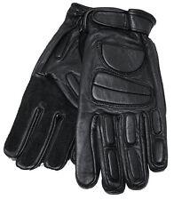Gloves Md. Police I Handschuhe Leder Funktionshandschuhe Schwarz S-XXL