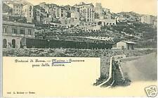 CARTOLINA d'Epoca: MARINI - ROMA - STAZIONE TRENI