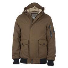 Bench Pallor Bomber Jacket Olive - Men's Winter Jacket with hood