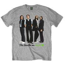 Los Beatles de pie John Lennon Paul Mccartney Tee Camiseta Oficial Hombre Unisex