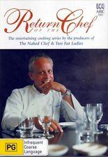 Return Of The Chef (John Burton-Race) - 2-DVDs (Reg.4) - NEW & SEALED - Freepost
