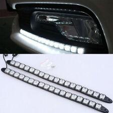 Universal Flexible 12 LED DRL Daytime Running Light Driving Fog Lamp Headlight