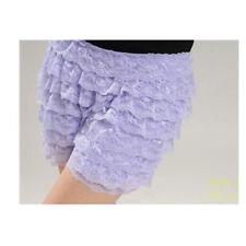 Girly Fashion  8 Layers Lace Shorts Ruffle  Boy Shorts  cross dresser