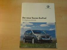 17117) VW Touran EcoFuel Prospekt 2006