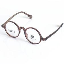 Vintage Round 48mm Eyeglass Frames Full Rim Myopia Rx able Unisex Glasses