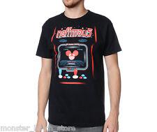 BRAND NEW WITH TAGS Neff x Deadmau5 ARCADE Tee Shirt BLACK MEDIUM-XXLARGE RARE