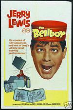 The bellboy Jerry Lewis vintage movie poster