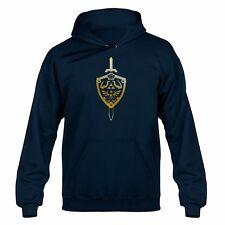 Zelda Inspiré Gold Master Sword & Shield à Capuche Sweater Hoody