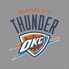 Oklahoma Thunder #5 NBA Team Logo Vinyl Decal Sticker Car Window Wall