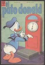 Walt disney Comic Pato Donald #867 In Spanish 1961