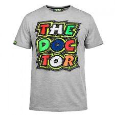 Neu Offiziell Valentino Rossi VR46 2016 The Doctor grau T-Shirt - vrmts 204905