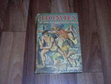 Roy Rockwood -- BOMBA  5  In der versunkenen Stadt / AWA Verlag 1950er HC mit SU