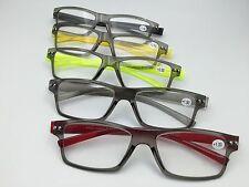 +250 reading eyeglasses +1.00 to +3.00 plastic frame plastic optical lens