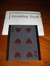 Amazing Card Sleeve - Like Masuda WOW - Superb Effect