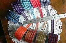Sheer Nylon Poly Sheer Line Edge 17mm Wide 5 Metre Lengths 9 Colour Choice AL13