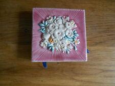 Italian Faience Tile Match Box Holder Creazioni Luciano Salerno Italy