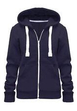 Sweater Jacket  Pull  à Capuche avec Cordon Hoodie White Zip