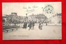 DIJON PLACE DU PEUPLE 1906 BOURGOGNE COTE D'OR
